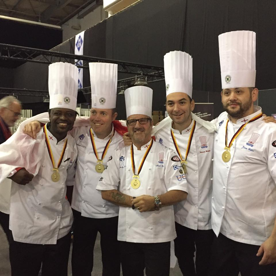 Compass Culinary Olympics gold