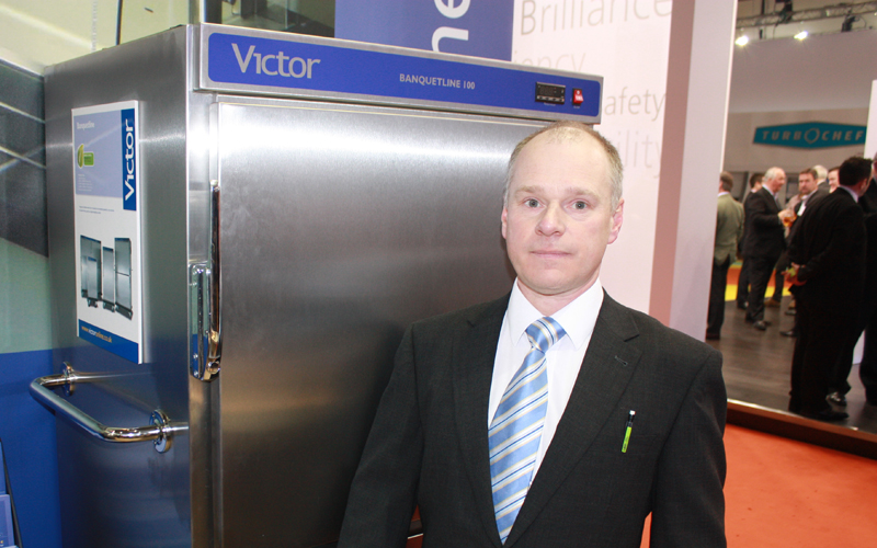 Peter Brewin, marketing and communications manager