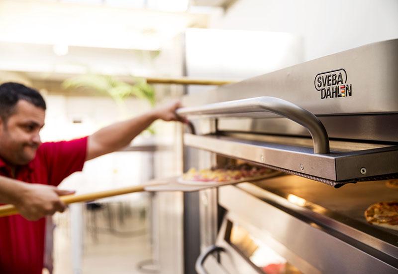 Sveba Dahlen pizza oven