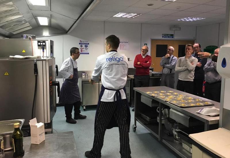 Retigo demonstration kitchen