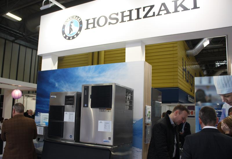 Hoshizaki UK stand