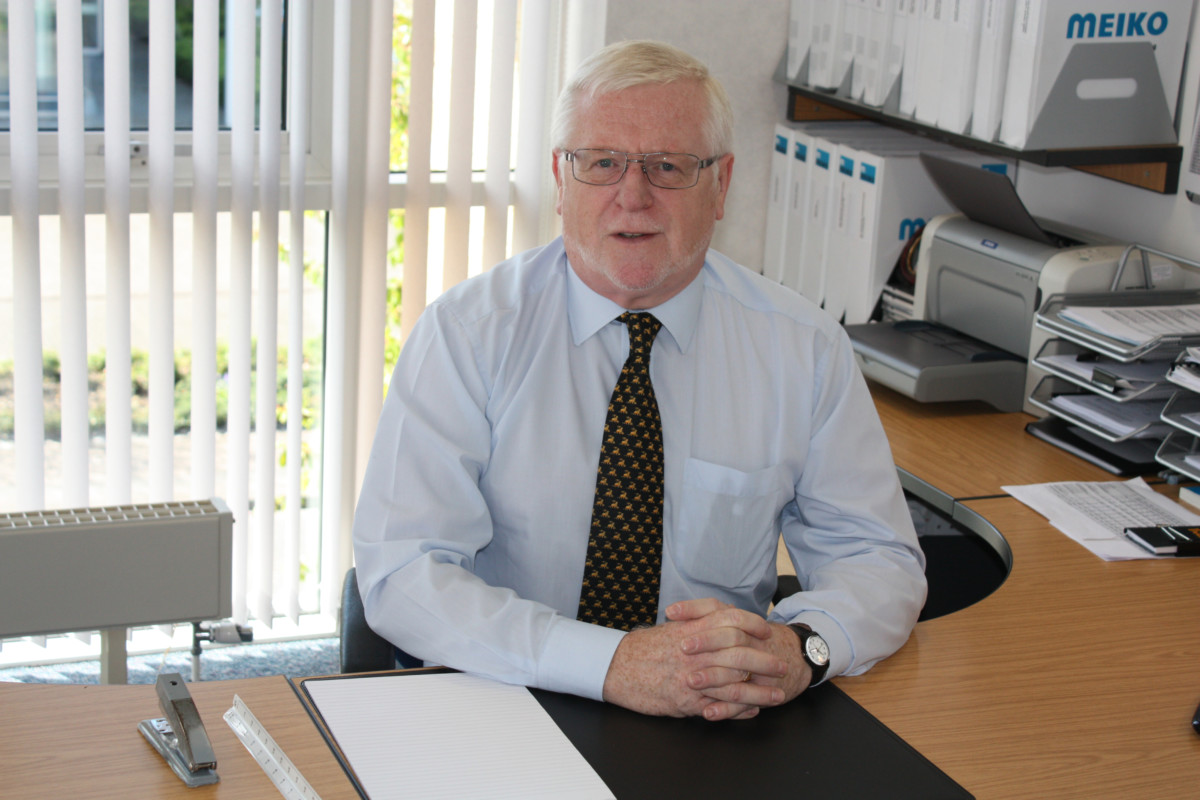 Bill Downie, managing director
