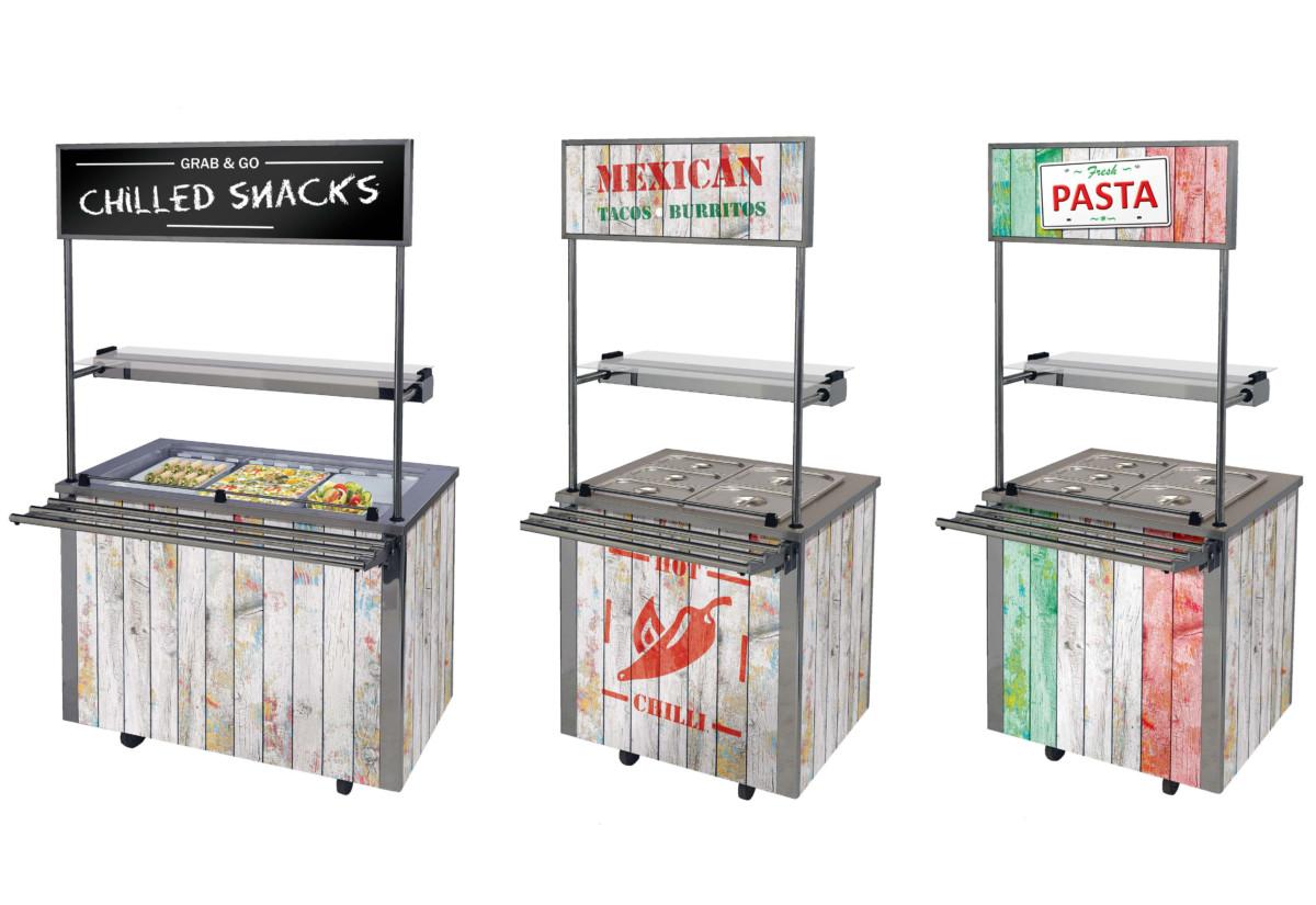 Moffat Versicartes Pop Up mobile counters