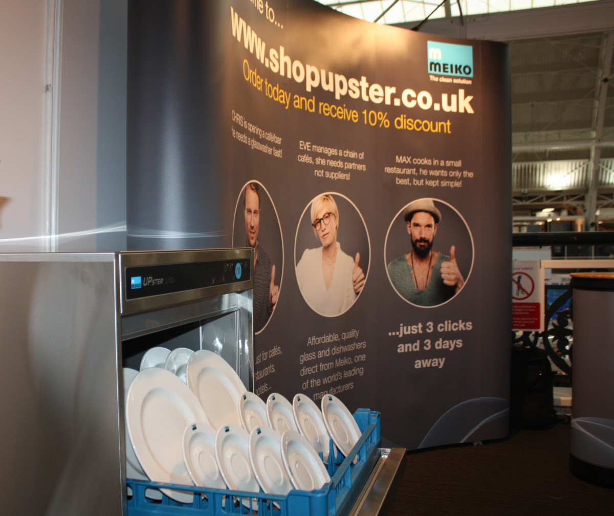 ShopUpster at Casual Dining Show 2017
