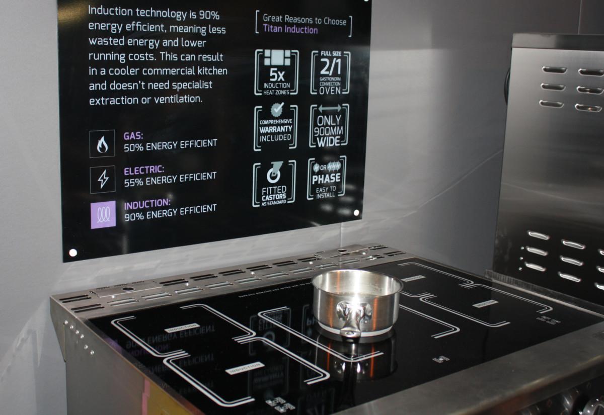 Titan Induction Range Cooker