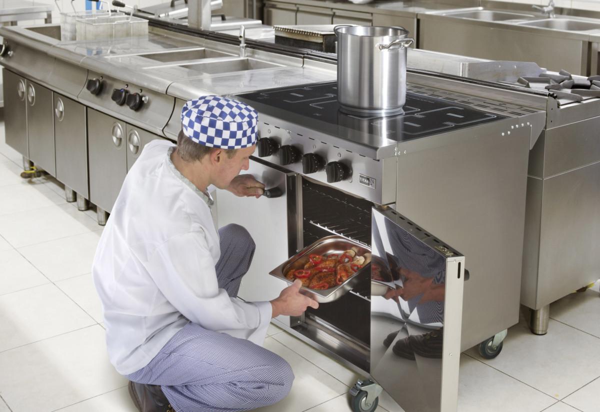 Burco Titan Range cooker chef