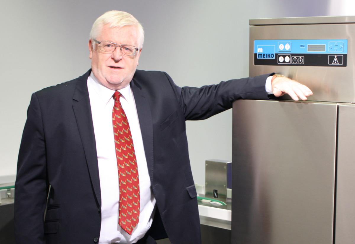 Bill Downie, managing director