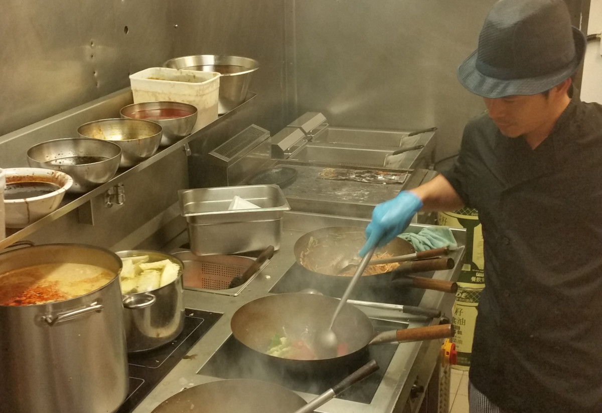 Asian restaurant kitchen 1