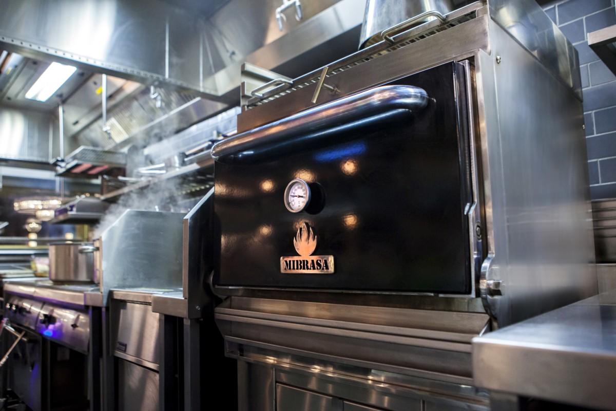 Mibrasa oven