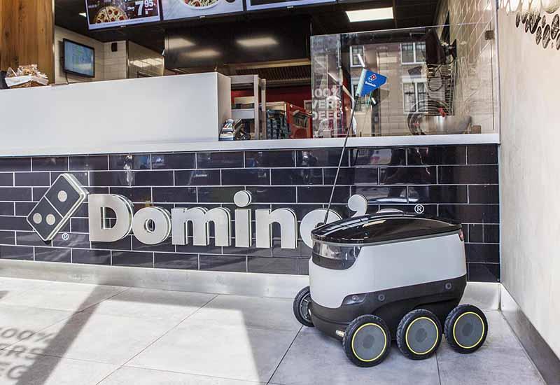 Domino's Starship robot