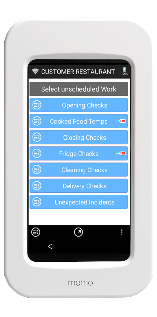 Checkit can be used as a task management system.