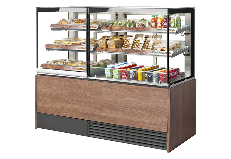 Fri-Jado modular foodservice counter