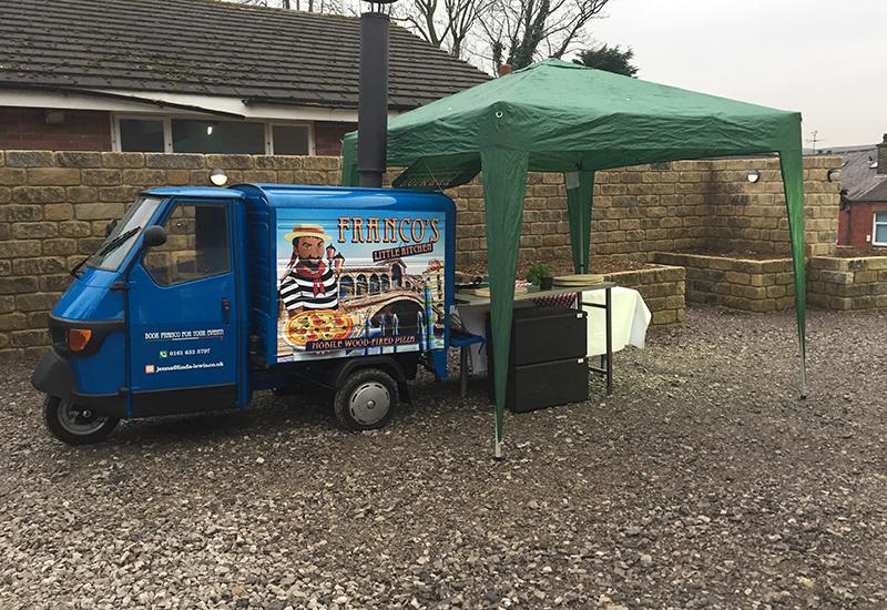 linda lewis kitchen mobile pizza oven