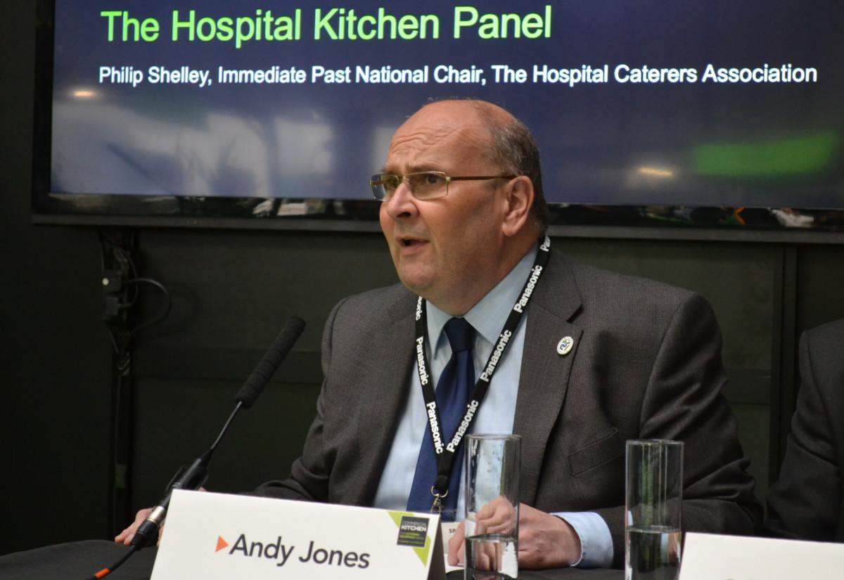 Andy Jones, managing director