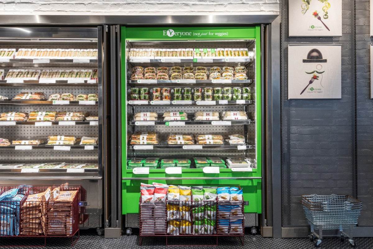Pret veggie fridge