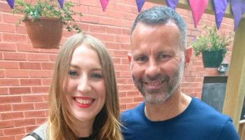Caroline Stevenson, Foodinate, with Ryan Giggs