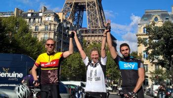 Chris Birch, Team Velo London to Paris Cycle Challenge