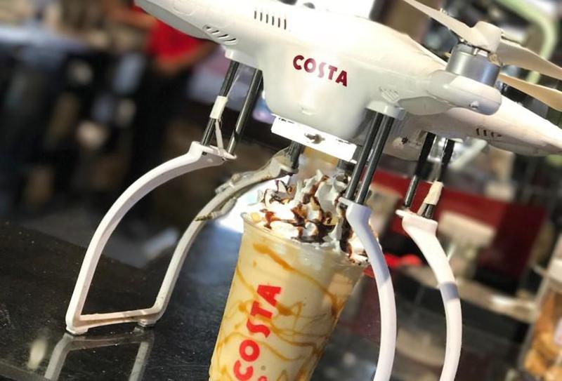 Costa drone Dubai 1
