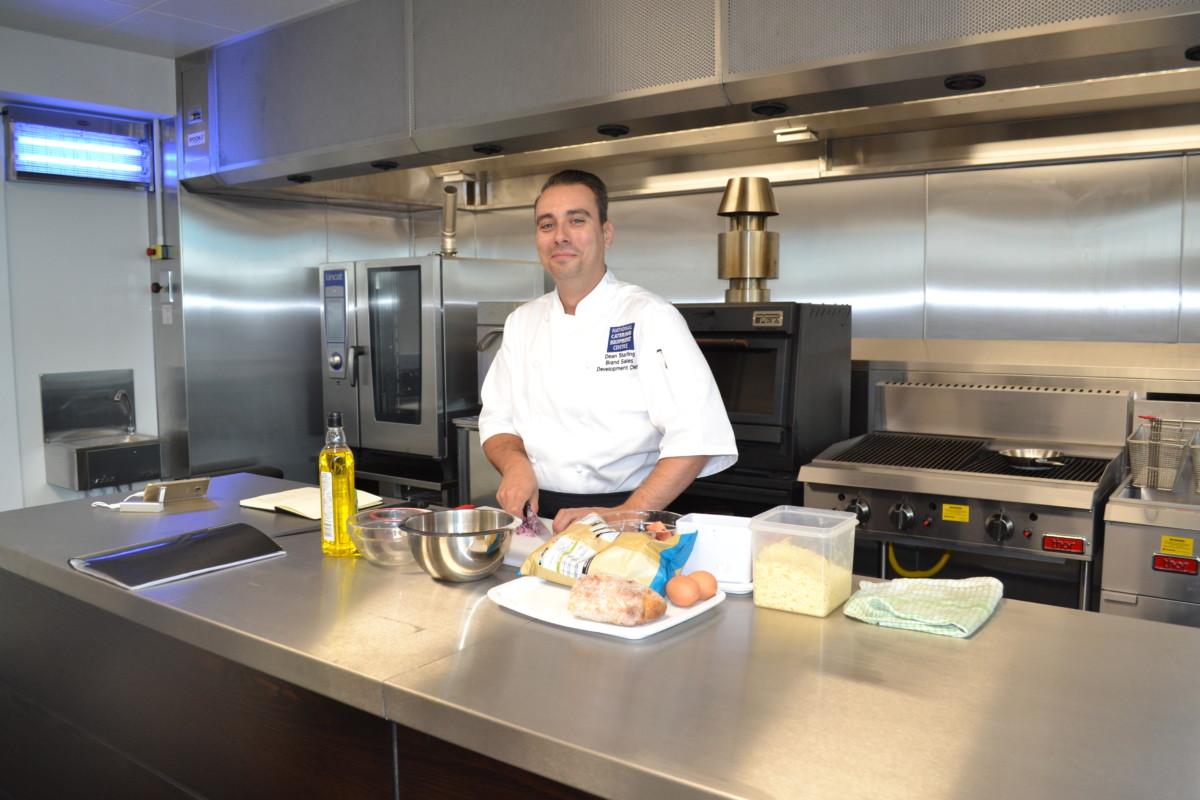 Dean Starling, development chef