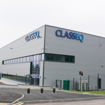 Classeq factory, Stafford