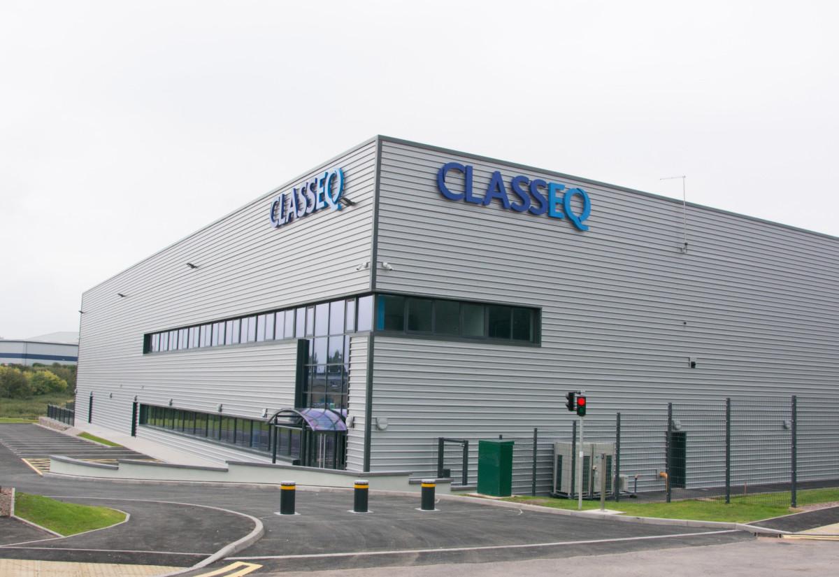 Classeq factory, Stafford