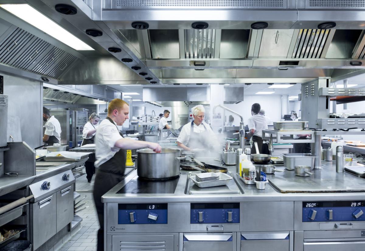 Northcote Manor kitchen