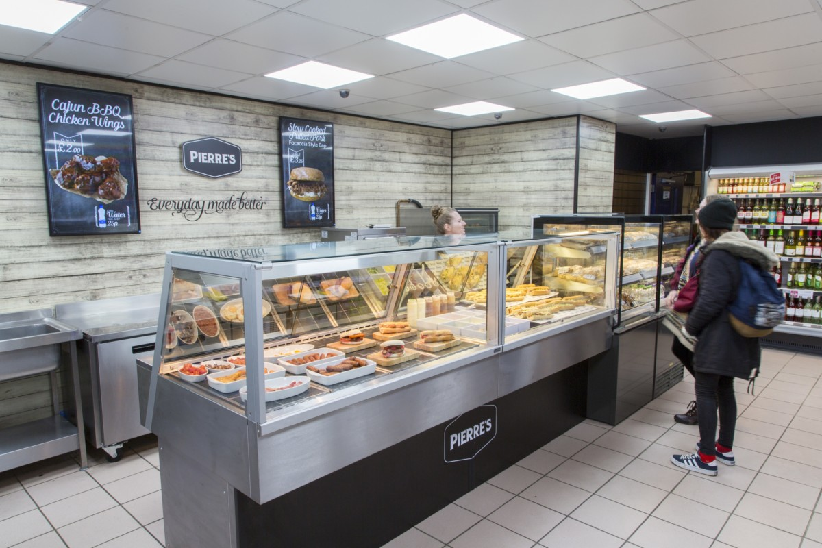 Fri-Jado counter at Costcutter