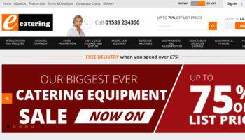 Ecatering website