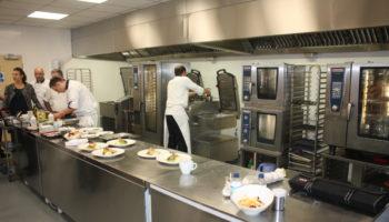 Microwaves in Fuller's kitchen