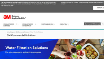 3M water filtration portal