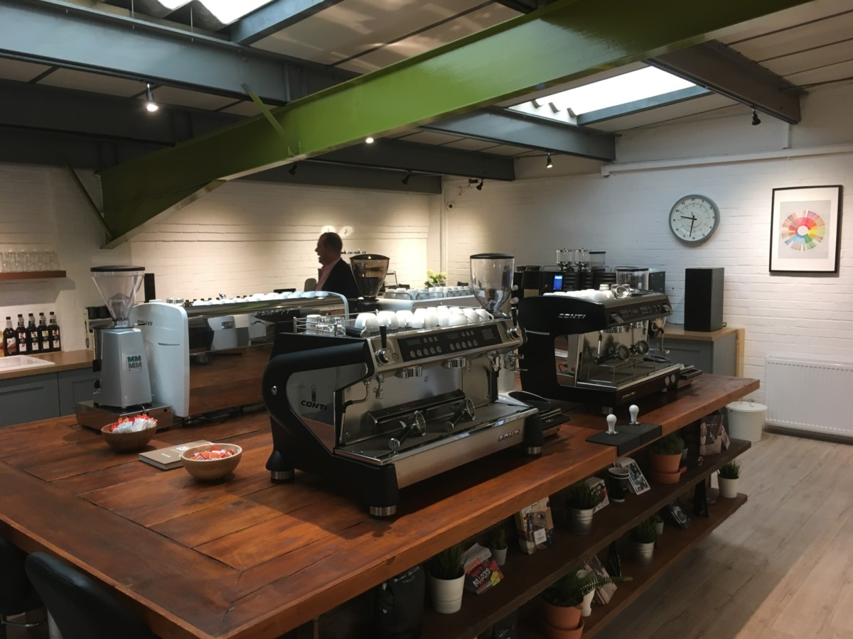 Caffeine demo coffee shop