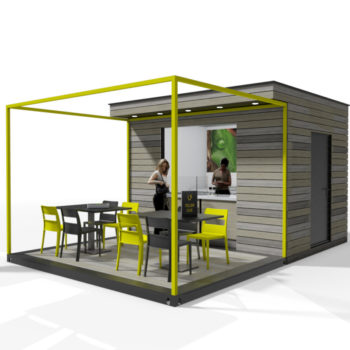 Food Cube modular catering concession