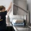 Hobart warewasher at Pizza Hut