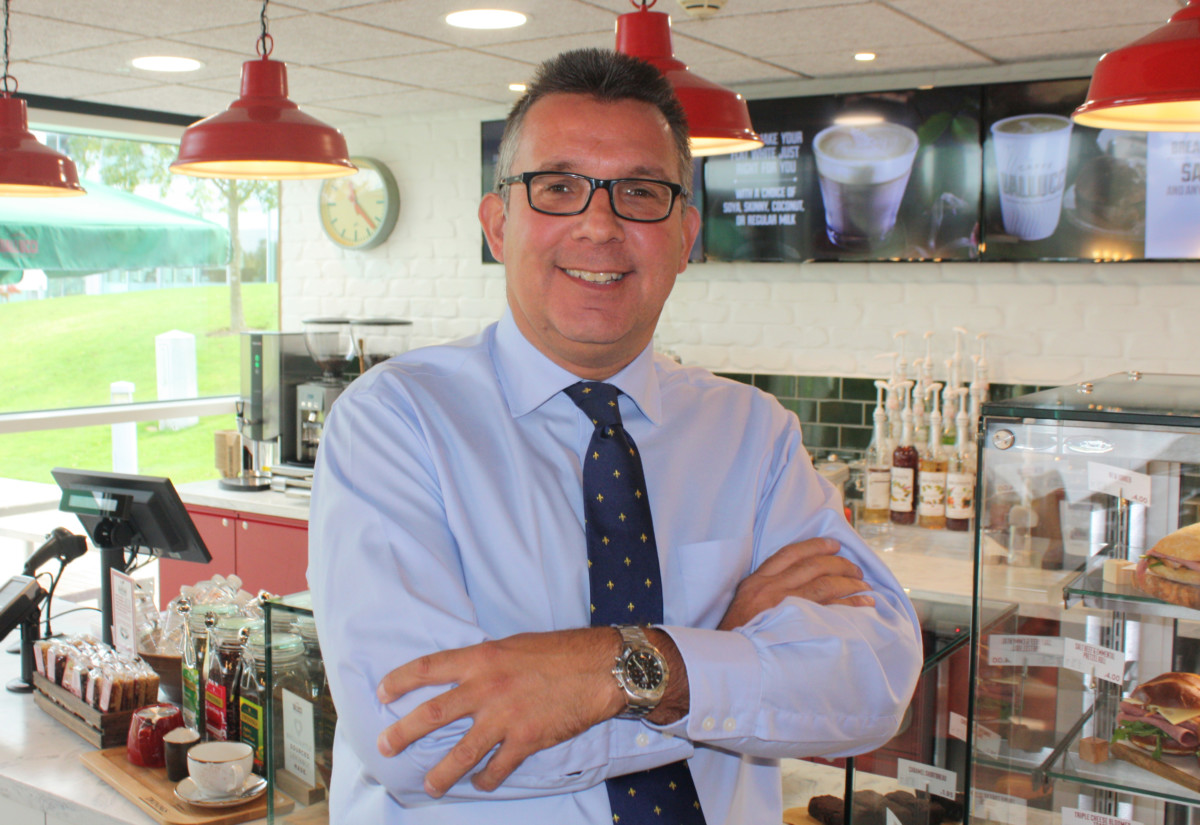 Steve Lovegrove, head of business excellence, central marketing, Compass Group