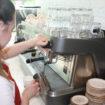 Caffe Dallucci coffee machine