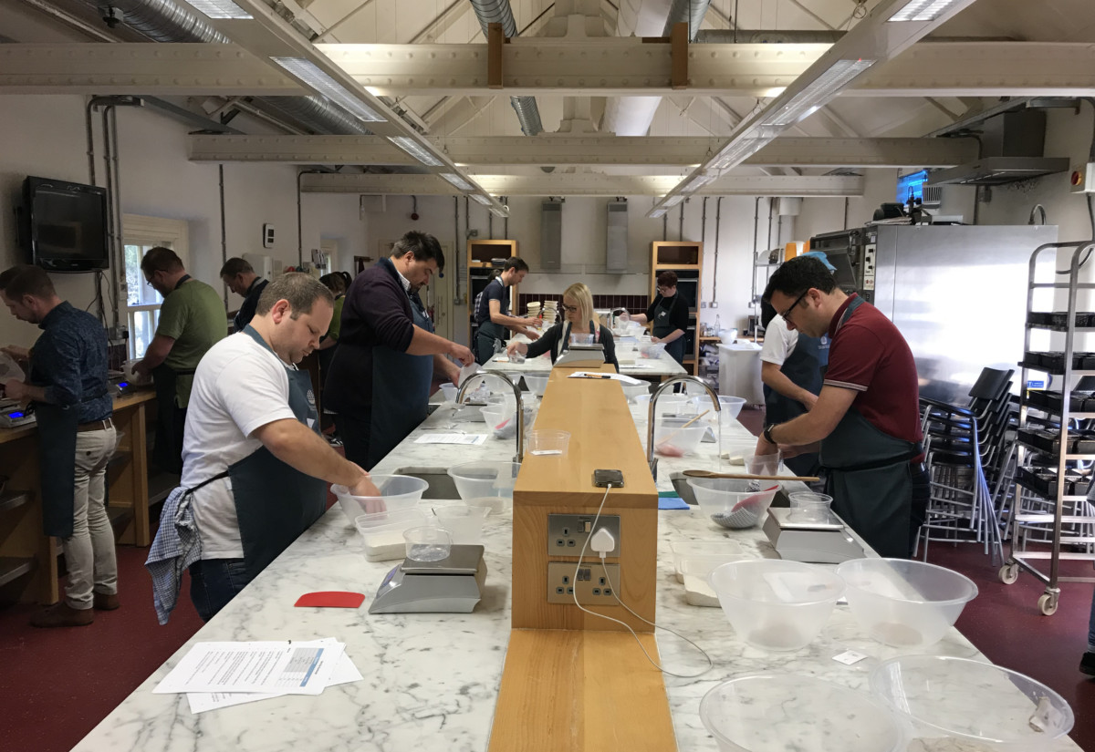 National Trust chefs at School of Artisan Food 1
