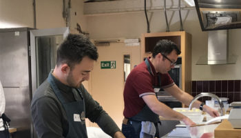National Trust chefs at School of Artisan Food 2