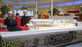 Chopstix Noodle Bar island unit