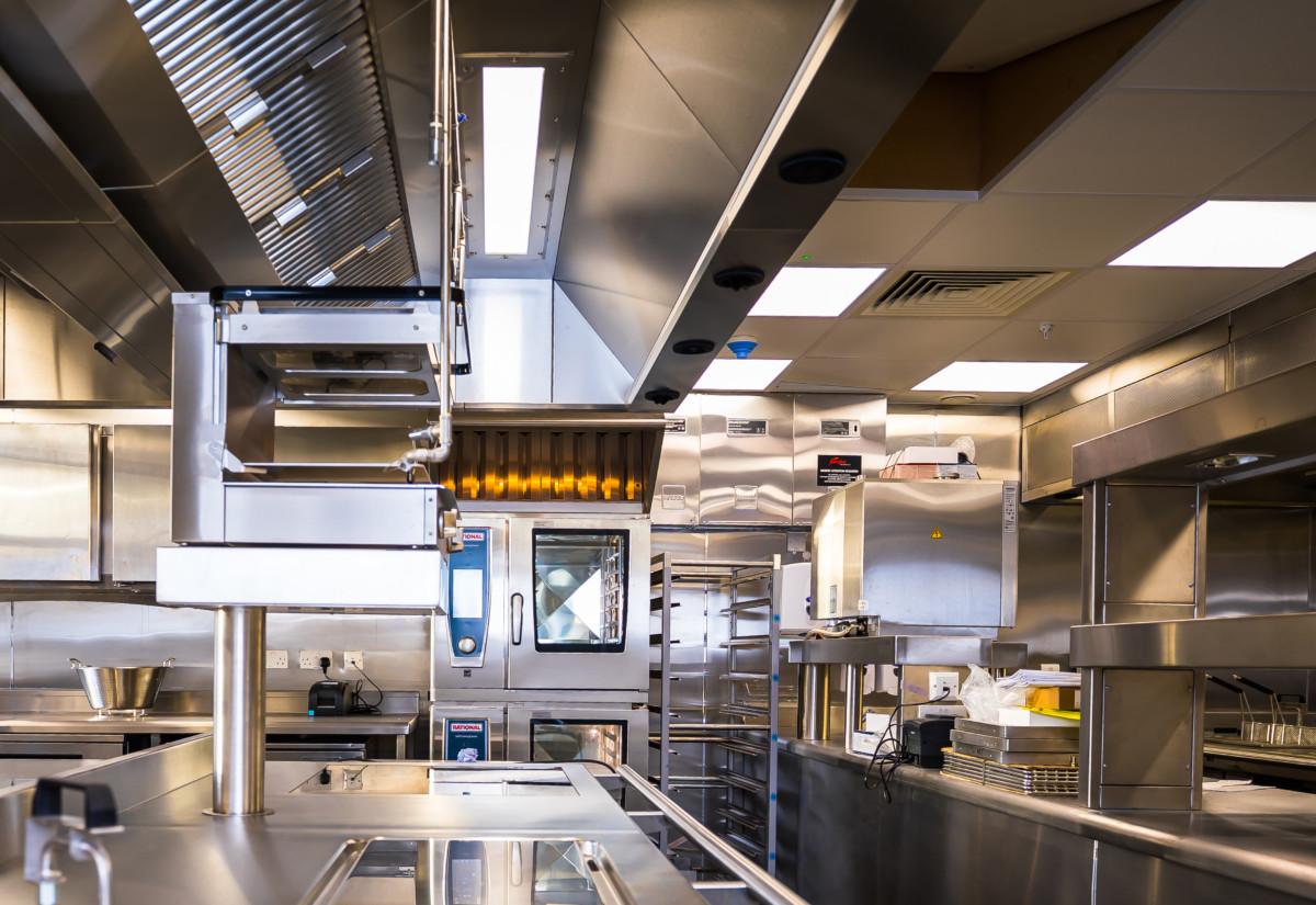 Annabel's third floor kitchen