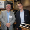 Edward Nunn, business development manager, Hatco & Scott Taylor, business development manager, Gamble Foodservice Solutions