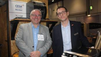 Edward Nunn, business development manager, Hatco & Scott Taylor, business development manager, Gamble Foodservice Solutions