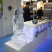 Hoshizaki ice penguin sculpture