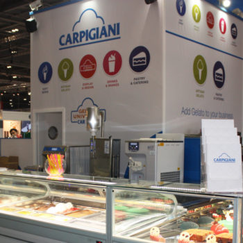 Carpigiani stand at Hotelympia 2018