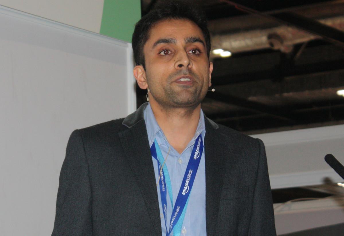 Nikhil Amin, head of Amazon Business UK (Market Place)