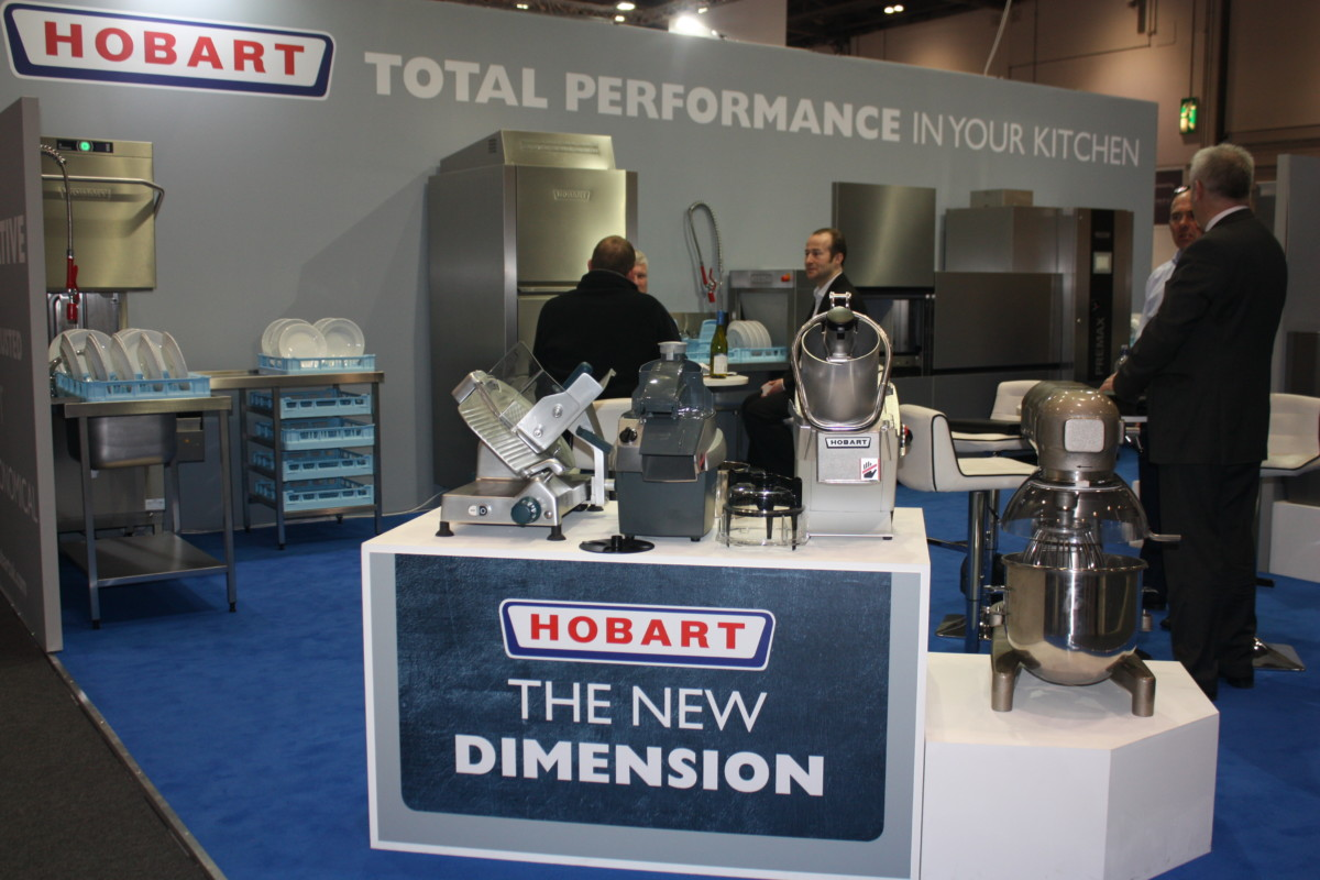 Hobart stand at Hotelympia 2018