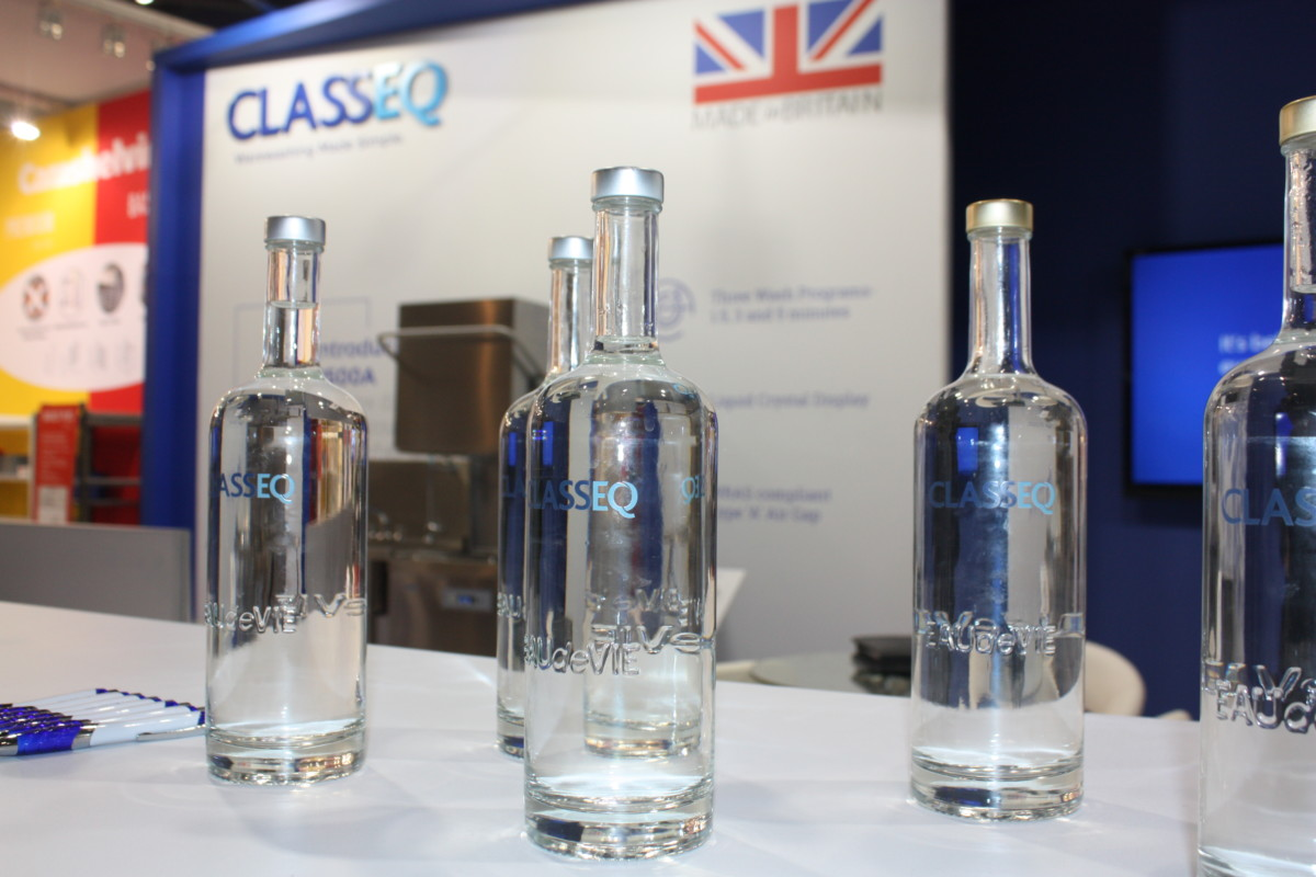 Classeq and Eau de Vie stand at Hotelympia