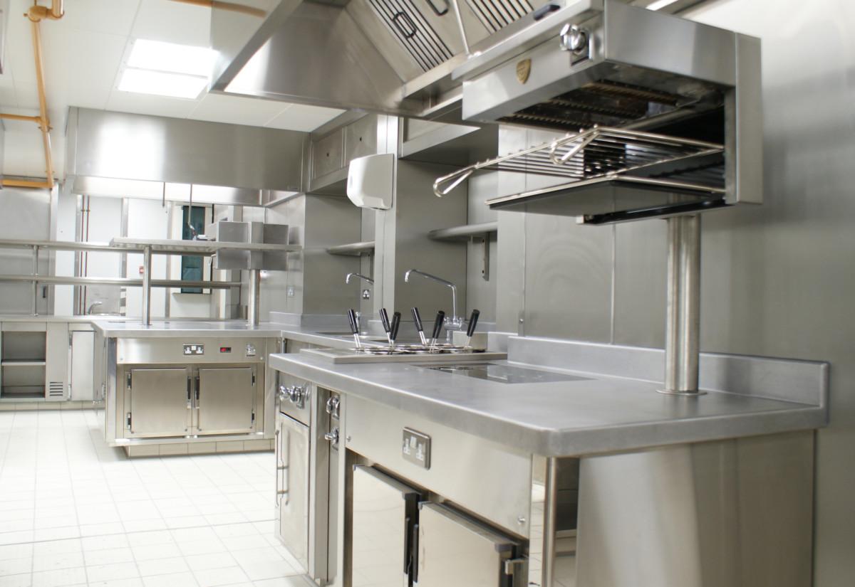 Kitchen at Chester Grosvenor