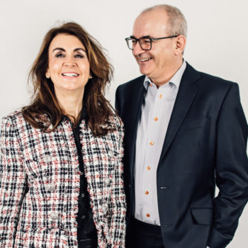 Carolyne Vale and Andrew Wilson, Co-founder