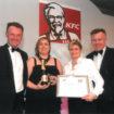 Anna McNamara, managing director (second left)