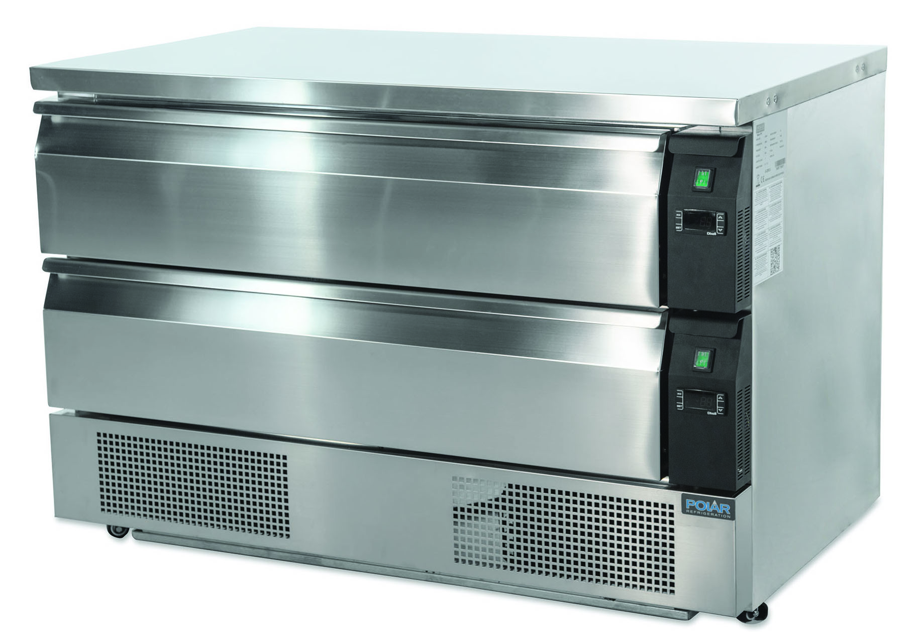 DA997 double drawer counter
